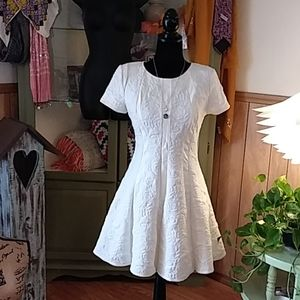 BAR III WHITE DRESS SZ M